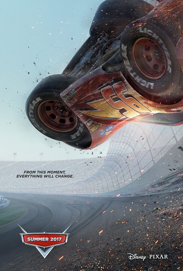 (New) Cars 3 Movie Poster
